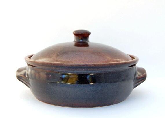 Ceramic Casserole - Pottery Casserole - Wheel Thrown - Bakeware Kitchen