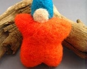 Star Baby Kota - Natural Needle Felted Wool