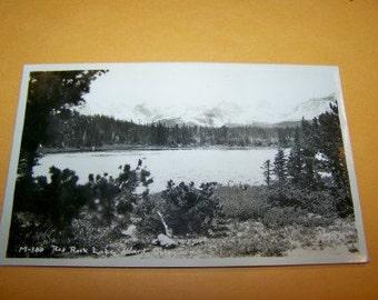 Red Rock Lake Ward Colorado vintage RPPC unused condition