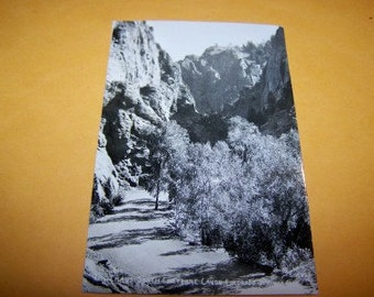 The Crags South Cheyenne Cannon Colorado vintage RPPC unused condition