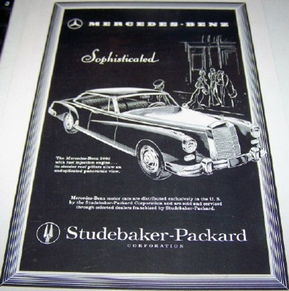 Studebaker packard corporation for Mercedes benz of bend