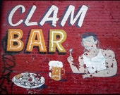 CLAM BAR, CONEY ISLAND, DIGITAL PHOTOGRAPH