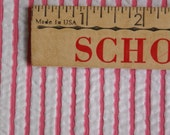 Vintage Pink Stripe Seersucker Fabric
