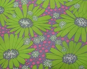 100+ inches Vintage Daisy Fabric