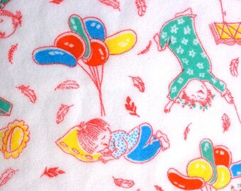 Vintage Sleepytime Fabric