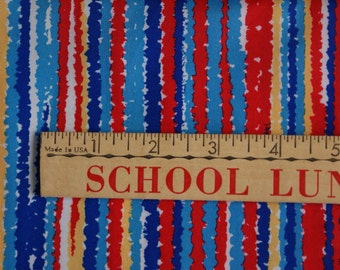 Vintage Striped Fabric