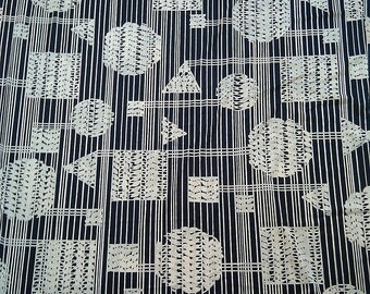 Super Cool 70's Polyester Fabric