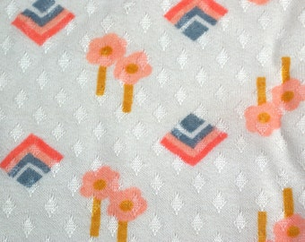 Vintage Bubble Gum-ish Fabric
