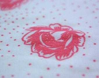 1980's Rose Fabric