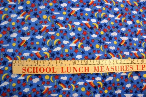 Vintage 80's Lisa Frankish Fabric