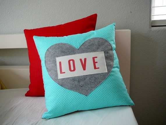 With Love - Pillow Cover for Charity