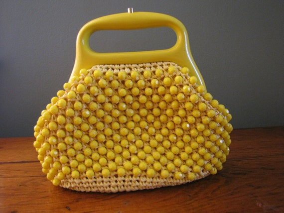vintage lemon drops bag