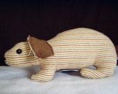 Mini Flannie Bunny Taupie/NOW 5.00