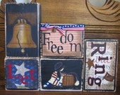 Let Freedom Ring USA Sign - Independence Day Sign, 4th of July Sign