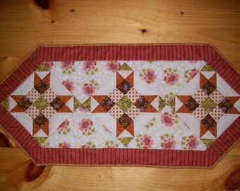 Tablerunner in great fall colors 17 X 43
