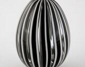 Hand Blown Glass Egg