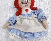 Cloth Doll OOAK Abigail 10 Inch Rag Doll SugarBabee