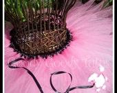 SOCK HOP SWEETIE Super Fluffy Bubblegum Pink Poodle Skirt Tutu - Up to 6T