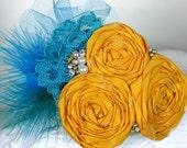 Weddings, Silk, Rosette, Headband, FRIDA - Freshwater Pearl, Fascinator, Retro, Vintage Style, Headband by frostingcoutureshop on etsy