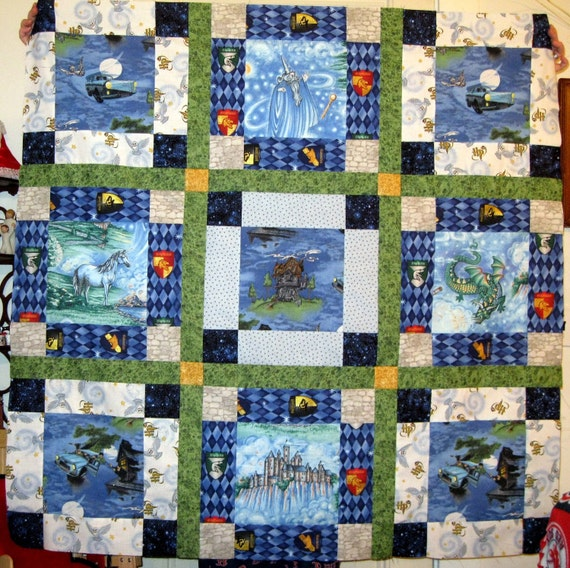 Harry Potter Fantasy Quilt Top