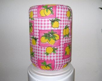 Bright Lemons Bottle Cover for 5 Gallon Standard Size
