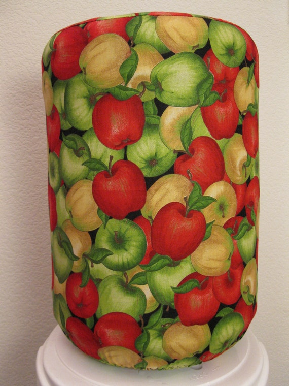 5 Gallons Bottle Cover - Red Green  Apples