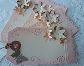 Beautifully Embellished Gift Tags