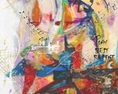 Vivid Melody - Music Print