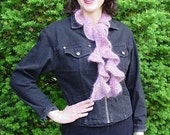 Iknitiative Knitting Pattern Frothy Frill Scarf Part No. A10