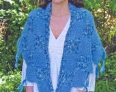 Iknitiative Knitting Pattern Step Lively Shawl Part No. P19