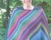 Iknitiative Knitting Pattern Sidewinder Poncho Part No. P02
