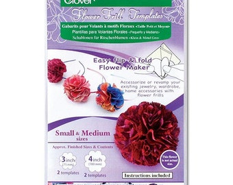 Clover Flower Frill Template Small/Medium Part No. 8460