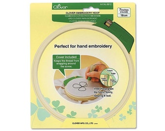 Clover Embroidery Hoop Large Part No. 8812