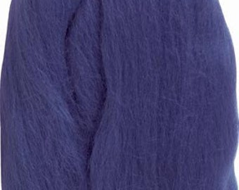 Clover Felting Natural Wool Roving Blue Part No. 7923