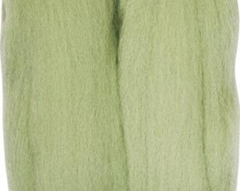 Clover Felting Natural Wool Roving Mint Part No. 7937 DISCONTINUED