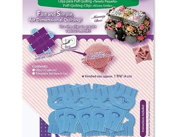 Clover Puff Quilting Clip Set Small Part No. 8402