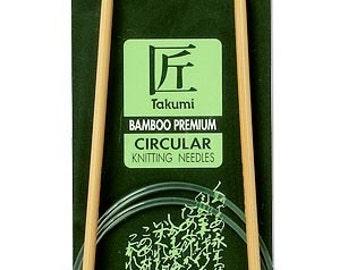 Clover 36 Inch Size 10 Takumi Circular Bamboo Knitting Needles Part No. 3016-36-10