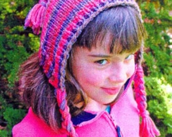 Iknitiative Knitting Pattern Hoodwinked Hat Part No. A32 DISCONTINUED