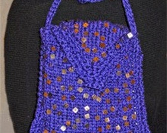 Iknitiative Knitting Pattern Spangle Evening Bag Part No. A22 DISCONTINUED