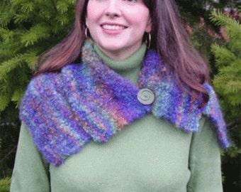 Iknitiative Knitting Pattern Vera Neck Cozy Scarf Part No. A49