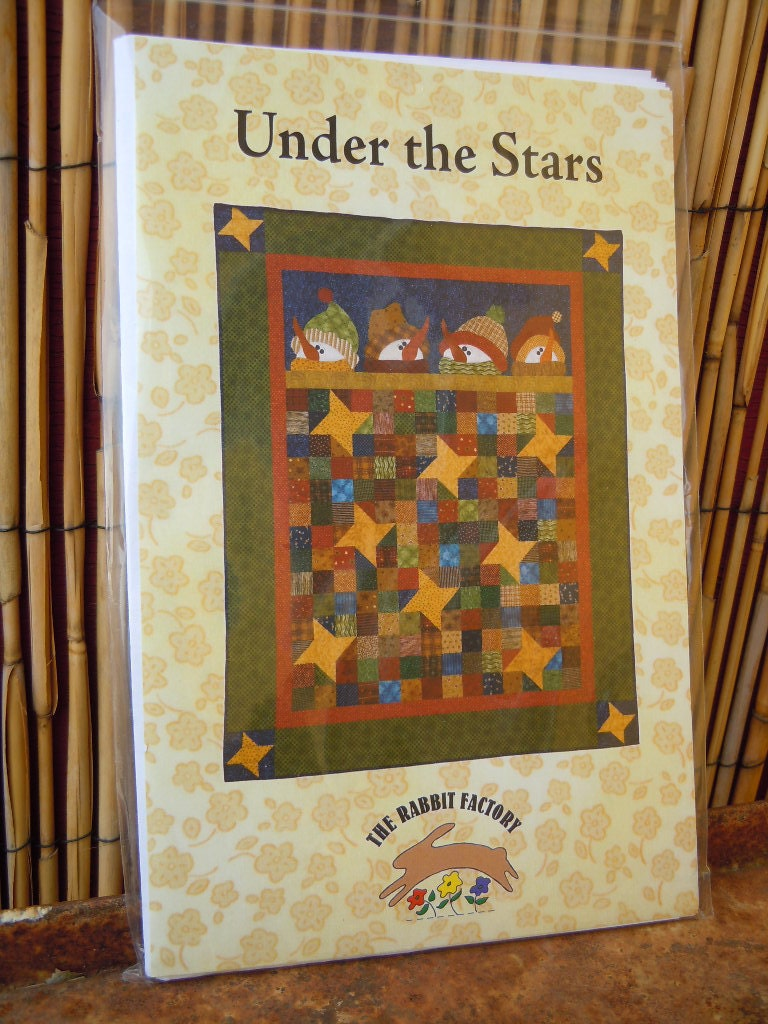 Under The Stars Unusual Christmas Snowman Quilt Pattern