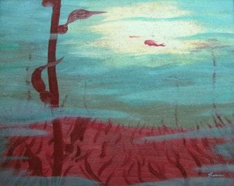 "16 x 20 ""Childhood Dream"" Canvas Giclee Fine Art Print"