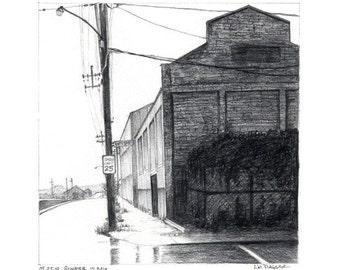 Corner of Desire Street NOLA