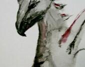 ACEO - Dragon - Watercolor