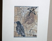 Crow ACEO Card