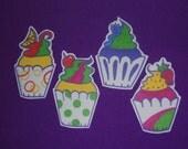 4 Cupcake Embellishments