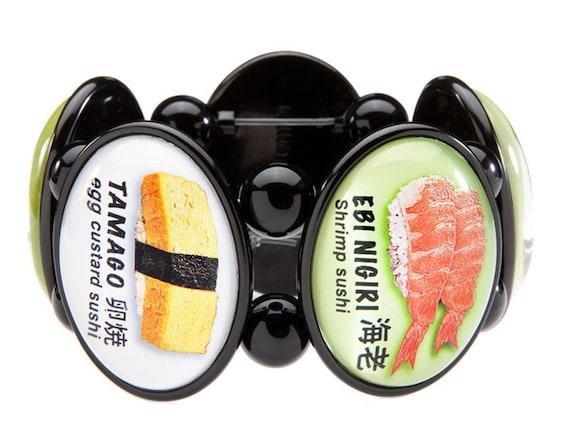 Sushi Five-Cameo Stretch Bracelet