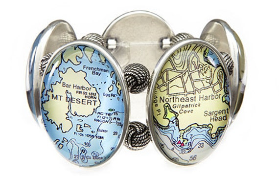 Bar Harbor Five-Cameo Stretch Bracelet