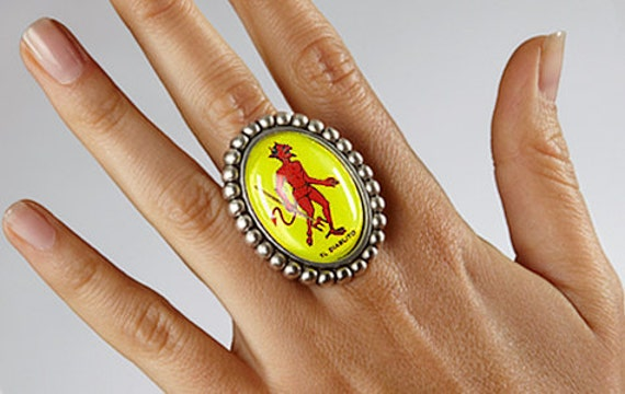 SALE - El Diablito Ring
