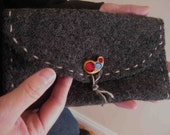 Pouch - Reclaimed Felted Jumper